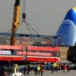Грузовик Ан-225 наняли для перевозки трамваев