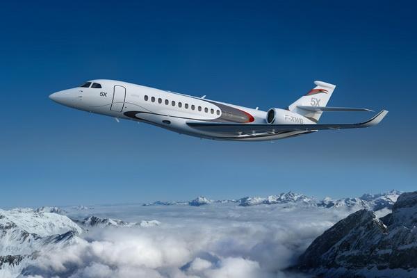 Dassault Falcon 5X - Бизнес джет