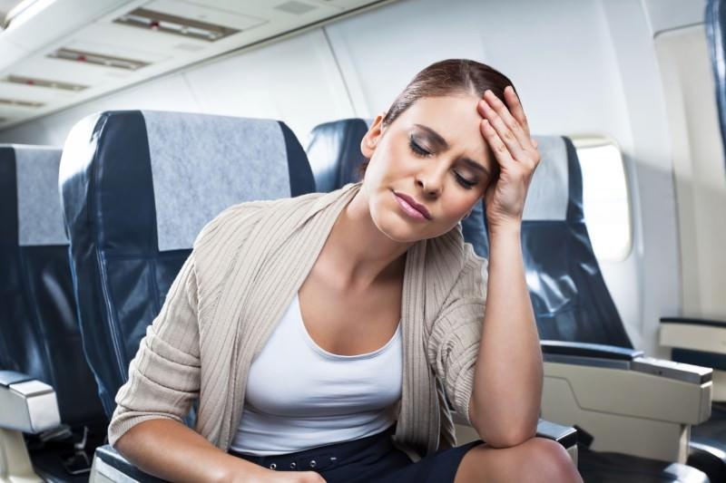Если вас укачивает во время перелета – советы врача