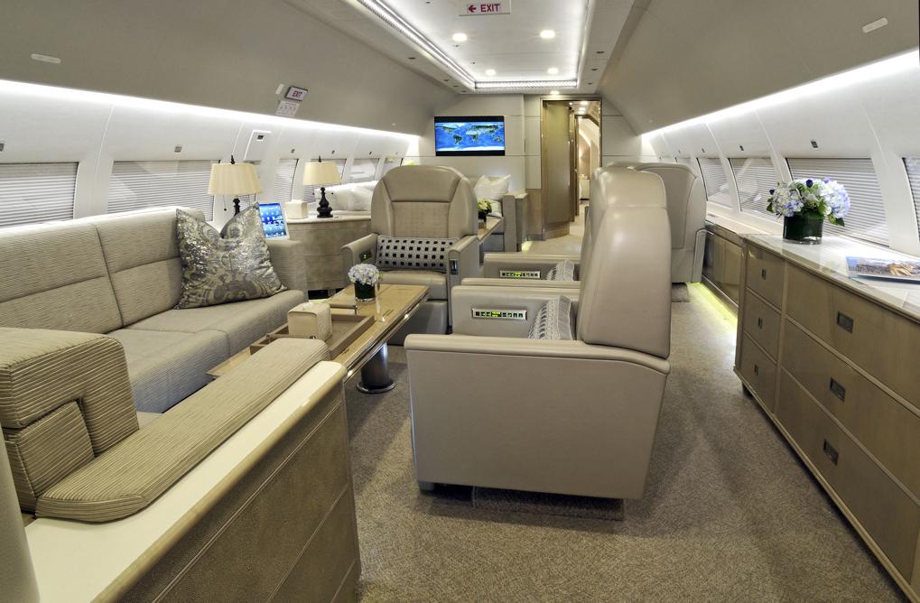 AIRBUS ACJ319 LX-GVV