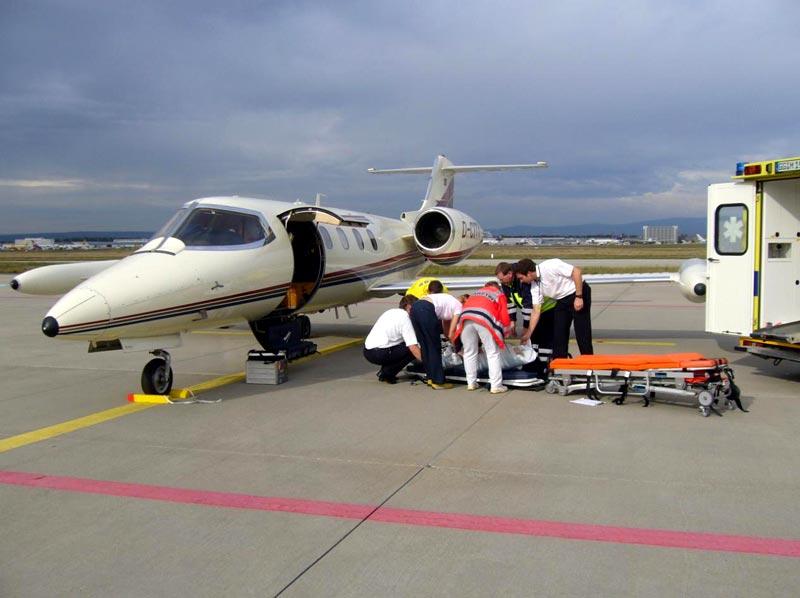 Перелет во Францию на лечение