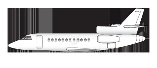 8 dassault falcon 900 ex easy lx gld t 1 - The Falcon 900EX EASy