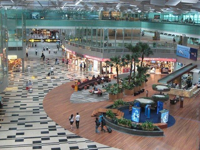 Airport Changi 1 - Аэропорт Чанги
