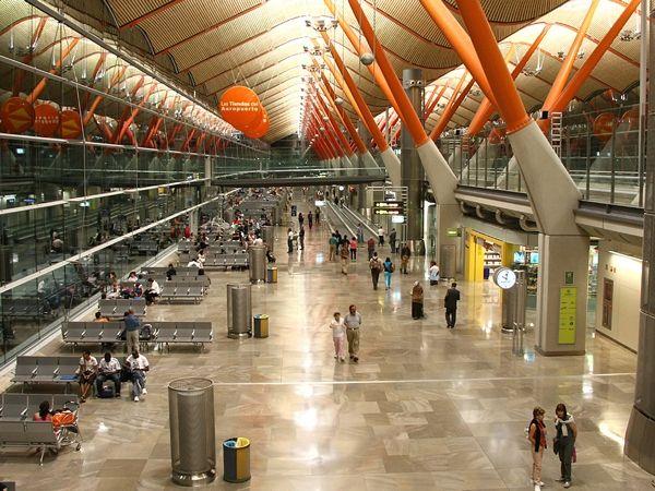 Barahas aeroport 2 - Адольфо Суарес Аэропорт Мадрид-Барахас