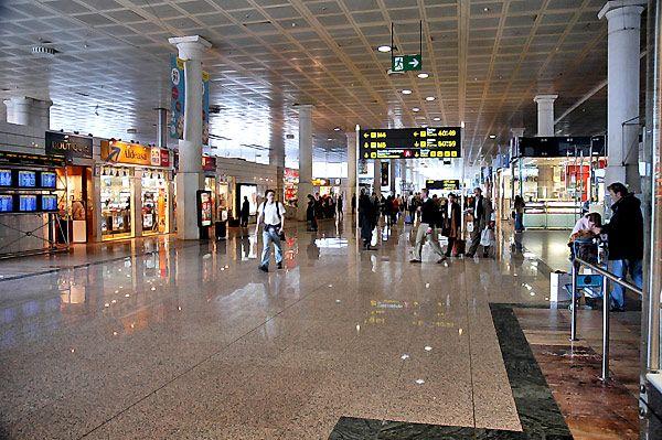 Barselona aeroport 1 - Аэропорт Барселона Эль-Прат