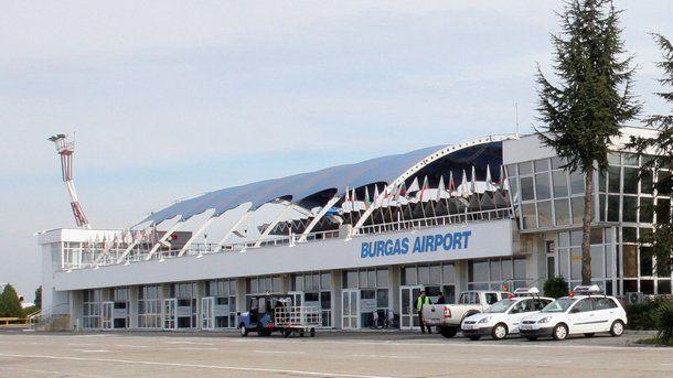 Byrgas aeroport 1 - Аэропорт Бургас