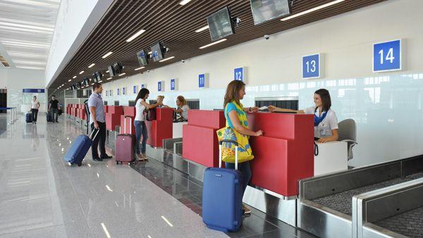 Byrgas aeroport 2 - Аэропорт Бургас