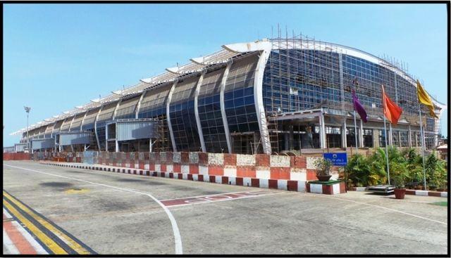 Dabolim aeroport 1 - Аэропорт Гоа Даболим