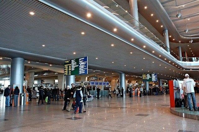 Domodedovo aeroport 2 - Аэропорт Домодедово