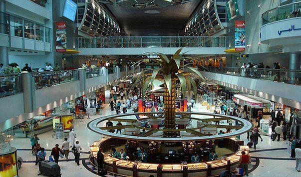 Dubay aeroport 1 - Аэропорт Дубай