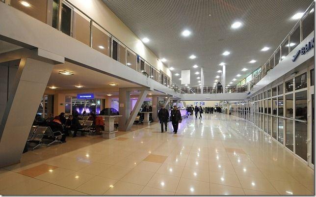 Gumrak aeroport 1 - Аэропорт Волгограда Гумрак