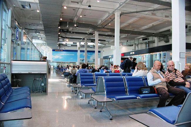 Hrabrovo aeroport 2 - Аэропорт Храброво