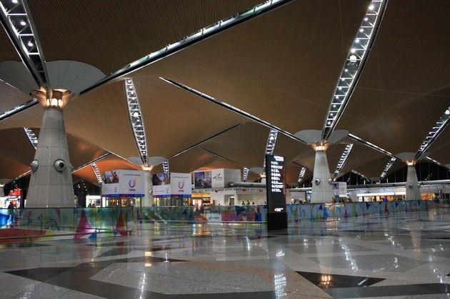 Kuala Lumpur aeroport 1 - Аэропорт Куала-Лумпур