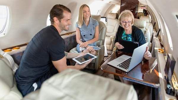 Learjet 40 6 - Learjet 40