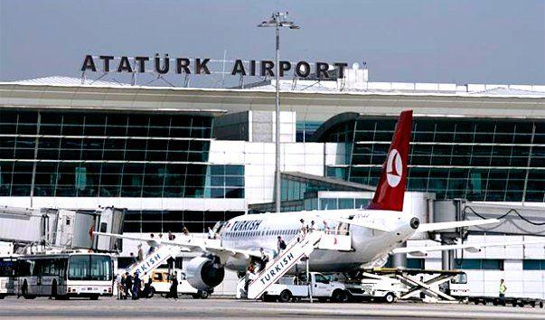 Mezhdunarodnyy aeroport imeni Atatyurka 1 - Аэропорт Стамбул имени Ататюрка