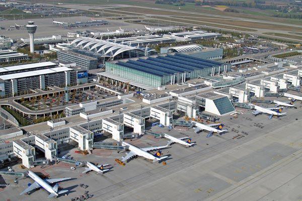 Myunhen aeroport 2 - Аэропорт Мюнхен