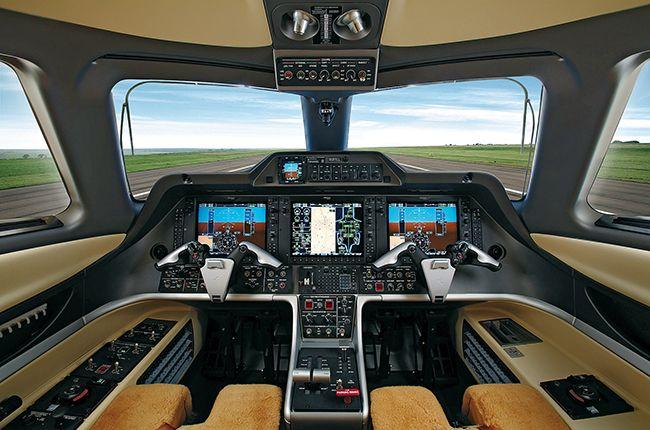 Premier I samolet kayuta pilota 1 - Premier I