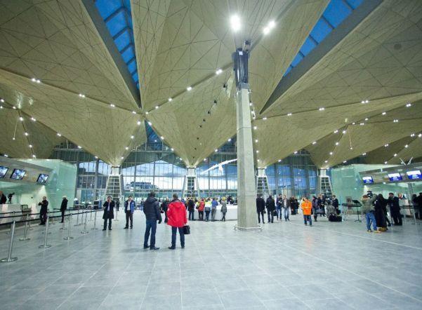 Pulkovo aeroport 1 - Аэропорт Пулково