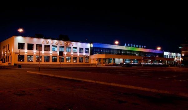 Roschino aeroport 1 - Аэропорт Рощино Тюмень