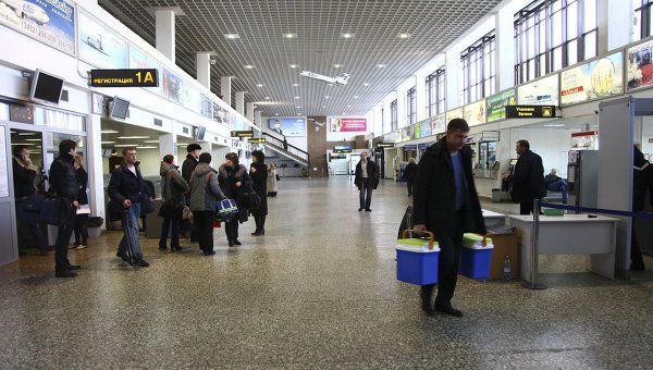 Roschino aeroport 2 - Аэропорт Рощино Тюмень