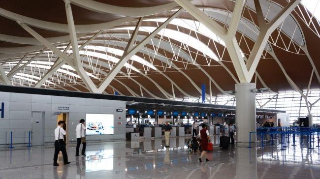 Shanhay Pudun aeroport 1 - Аэропорт Пудун