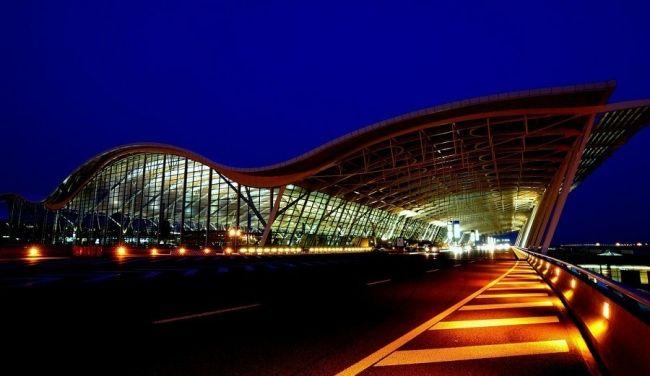 Shanhay Pudun aeroport 2 - Аэропорт Пудун
