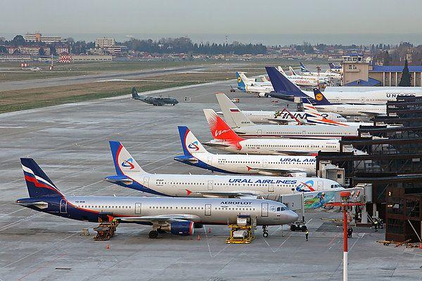 Sochi   Adler aeroport 2 - Аэропорт Сочи