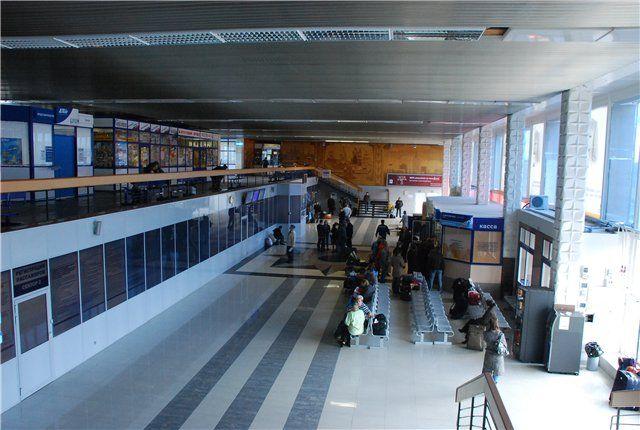 Talagi aeroport 2 - Аэропорт Талаги (Архангельск)