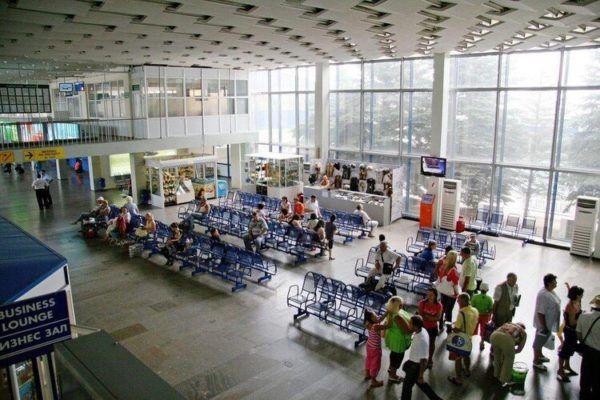 Vityazevo aeroport 2 - Аэропорт Анапа
