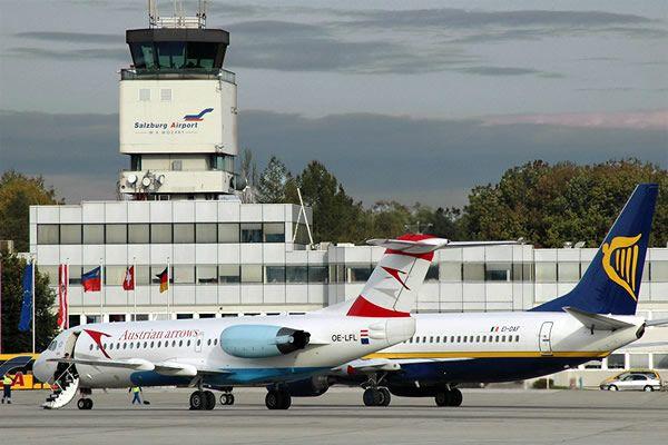 Zalcburg aeroport 6 - Аэропорт Зальцбург