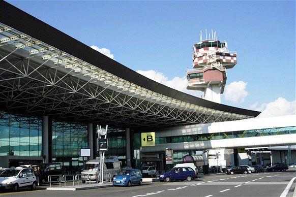 aeroport Leonardo da Vinchi (Fyumichino) 2 - Аэропорт Рима Леонардо да Винчи (Фьюмичино) - LIFR - FCO - Leonardo da Vinci International Airport -  Rome Fiumicino Airport