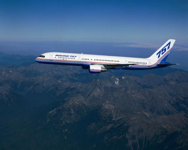 Самолет Boeing 757-200 характеристики и фото