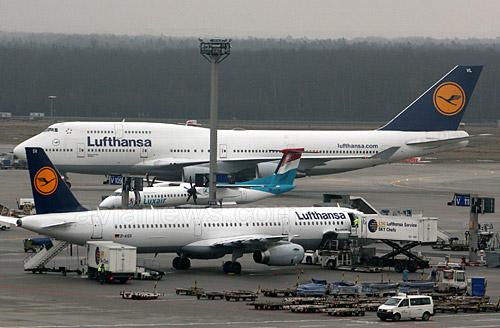 lufthansafleet l - Забастовка пилотов Lufthansa