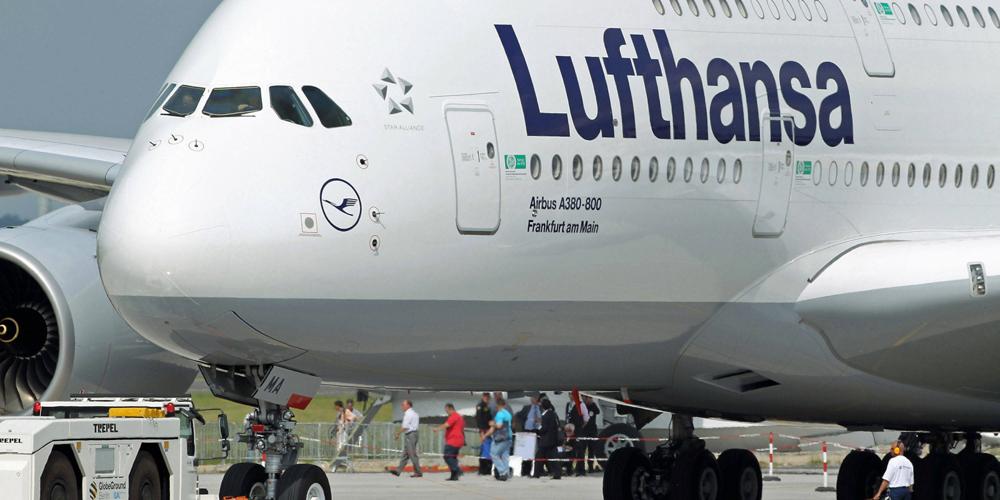 Самолет Lufthansa вынужденно прервал полет из-за сообщения о бомбе