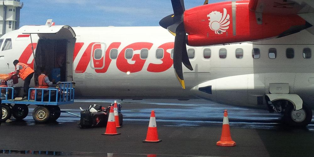 Самолет авиакомпании Wings Air выкатился за пределы полосы