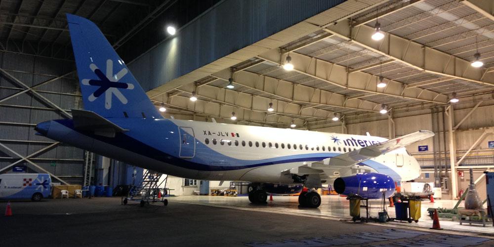 Авиационная компания Interjet возобновила эксплуатацию самолетов SSJ-100