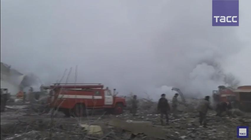 В районе Бишкека упал авиалайнер турецкой компании Turkish Airlines