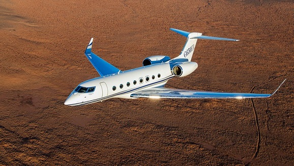 4 g650er aerial 008 photo by paul bowen free big - Gulfstream G650ER побил еще два мировых рекорда