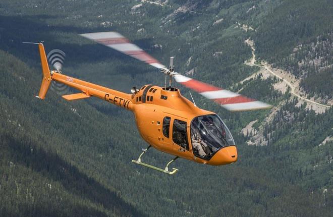 6548678696886590 - Одномоторный вертолет «Bell 505» прошел сертификацию в Канаде.