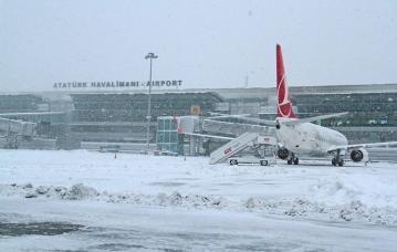 Port Lotniczy Ataturk fot. Istanbul Airport Twitter.preview - Форс-мажор в аэропортах Стамбула