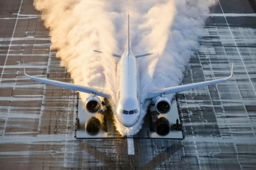 a321neo certification testing 2 - Airbus готов нарастить производство