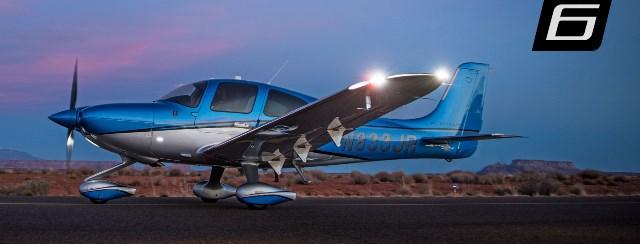 g6 dusk slider  - Cirrus Aircraft  омологировал SR22 и SR20