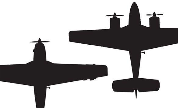 i340173 - Какой самолет выбрать для личного пользования: двух- или одномоторный?