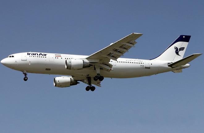 iran air airbus a300 01 - Iran Air заключила с Airbus контракт на 100 коммерческих самолетов