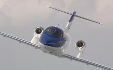 112 0703 02z honda jet air front.preview - Самолет для деловой авиации  HondaJet получил дополнительный сертификат  FAA