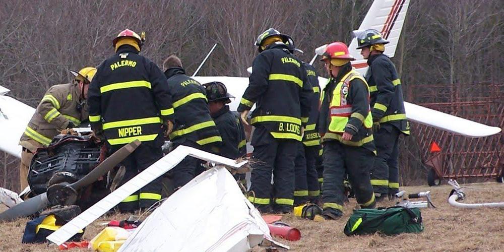 26 1 - В США крушение самолета летной школы привело к гибели человека