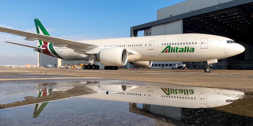 34 - Авиационному перевозчику Alitalia пришлось отменить более половины рейсов