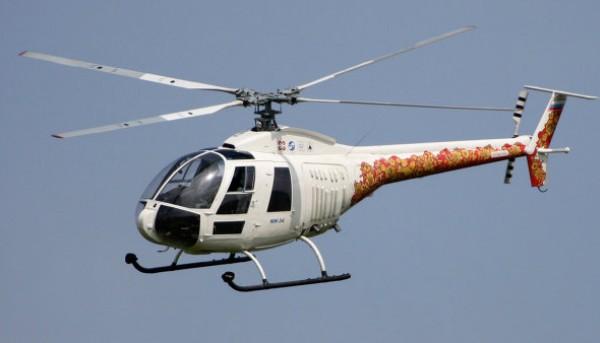 54 - Вертолетные перелеты по Франции