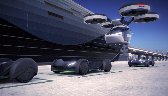 Городской авиатранспорт будущего глазами Italdesign и Airbus