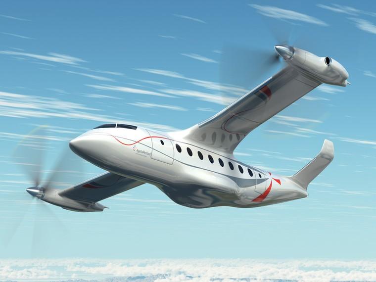 Самолет бизнес-класса с вертикальным взлетом и посадкой  от Leonardo полетит в 2023 году